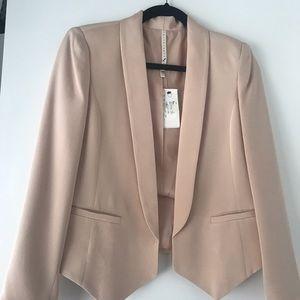 TRUTH and PRIDE NWT Blush Silk Blazer